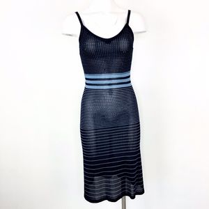 BCBGmaxazaria | Vintage 2k Tank Dress Blue Knit